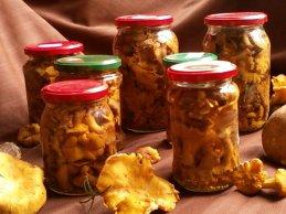 купить маринованные лисички грибы в Москве